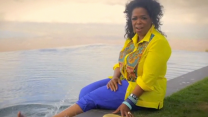 Oprah Winfrey Splashes in the Pool, Shares Favorite Summer Memories