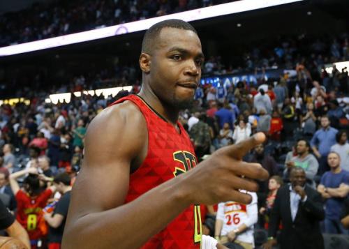 Paul Millsap played four seasons with the Hawks. (AP)