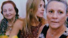 Carolina Dieckmann posta foto com a mãe cinco meses após sua morte