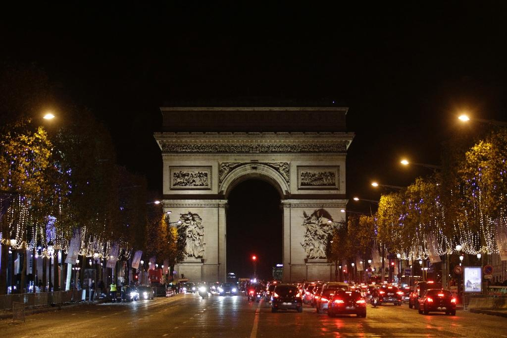 The Champs-Elysees was on a list of potential terror targets in Paris (AFP Photo/Geoffroy van der Hasselt)