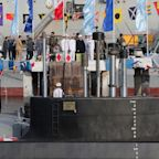 Iran launches new missile submarine