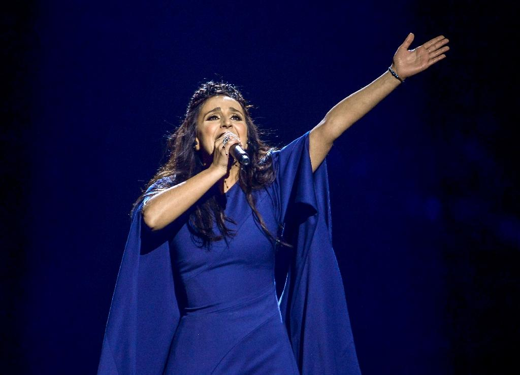 The Eurovision entry by Ukranian singer Jamala brings serious political and diplomatic undertones to the competition (AFP Photo/Maja Suslin/TT)