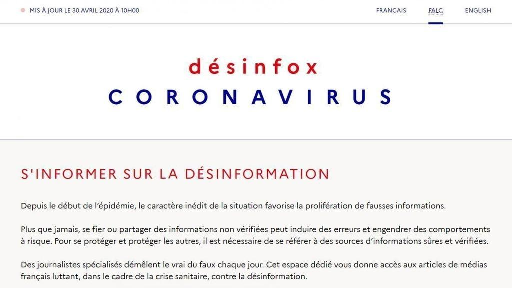 French government pulls Covid-19 fake news website offline