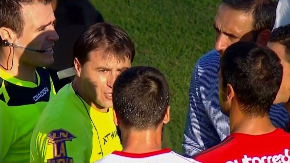 Minacce di morte: l'arbitro Hector Paletta, fratello di Gabriel, sospende la gara