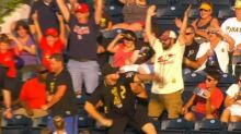 Pirates fan savagely fires Cardinals home run ball into Allegheny River