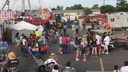 One dead, seven hurt after thrown from ride at Ohio fair