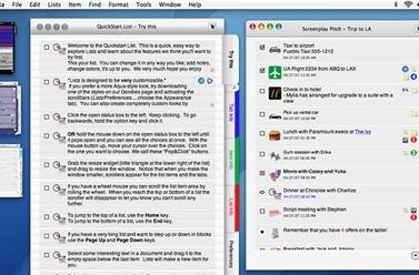 Listz - a powerful organizer with rich media, iPod exporting and more