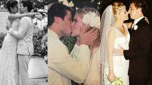 Gravidez e casamento: 8 famosas que esbanjaram charme na hora do sim