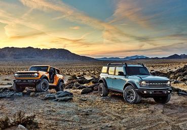 福特全新一代Bronco越野休旅車追加Onyx Black 黑色內裝版