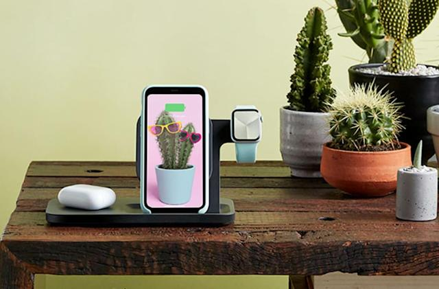Logitech's 3-in-1 dock charges your iPhone, Apple Watch and AirPods