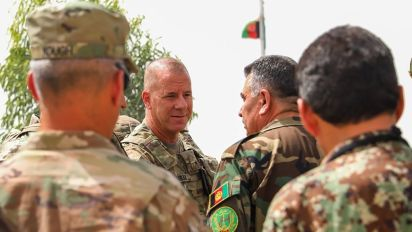 U.S. general hurt in Afghan insider attack last week