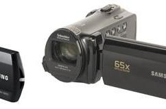 Samsung announces new camcorder range: QF20, F80 and ruggedized W300