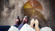 Genius wedding weather calculator will predict whether it will rain on your big day