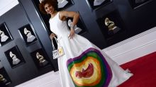 This star wore an anti-abortion dress at the Grammys
