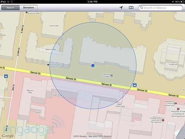 iPhone Personal Hotspot transmitting GPS information to tethered iPads? (Update: no)