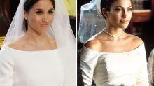 People think Meghan's dress looks familiar