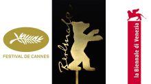 Die Filmfestspiele von Cannes, Berlin und Venedig im Oscar-Vergleich