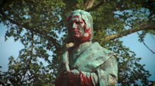 Christopher Columbus statues in 2 cities destroyed