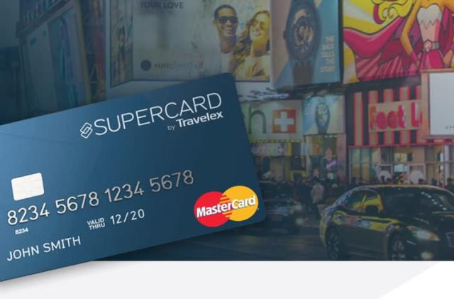 Travelex's Supercard lets Brits spend money abroad without fees