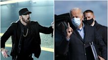 Eminem's 'Lose Yourself' Soundtracks New Campaign Ad for Biden