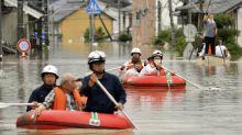 Deadly torrential rains and flooding batter southwestern Japan