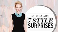7 Oscar Style Surprises: Cate Blanchett's Galliano, Sienna Miller's Oscar de la Renta & More