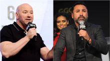 """Guerra abierta entre UFC y Óscar de la Hoya: """"¡Eres un yonqui cocainómano!"""""""