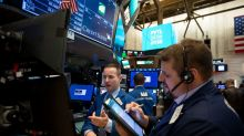 Dow drops more than 100 points, adds to Tuesday's losses, as rates keep climbing