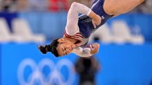 Day 6 Olympics roundup: Gymnast gold, soccer longevity and a blue bandanna
