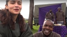 "Watch Alia Bhatt Savour ""Bush"" Breakfast During Her Kenyan Safari"