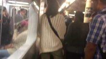 New York Subway Passenger Gets Stuck Between Train and Platform
