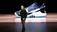 Nike unveils self-lacing basketball shoe