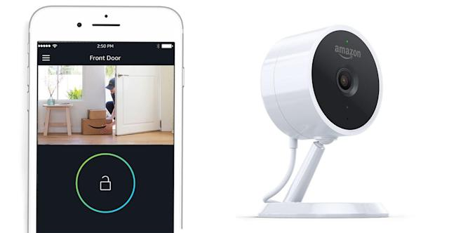 Amazon's home security Cloud Cam supports Alexa