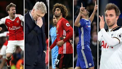 Round-Up: Fellaini tests Mourinho's patience, Chelsea match on, Moyes misery and more