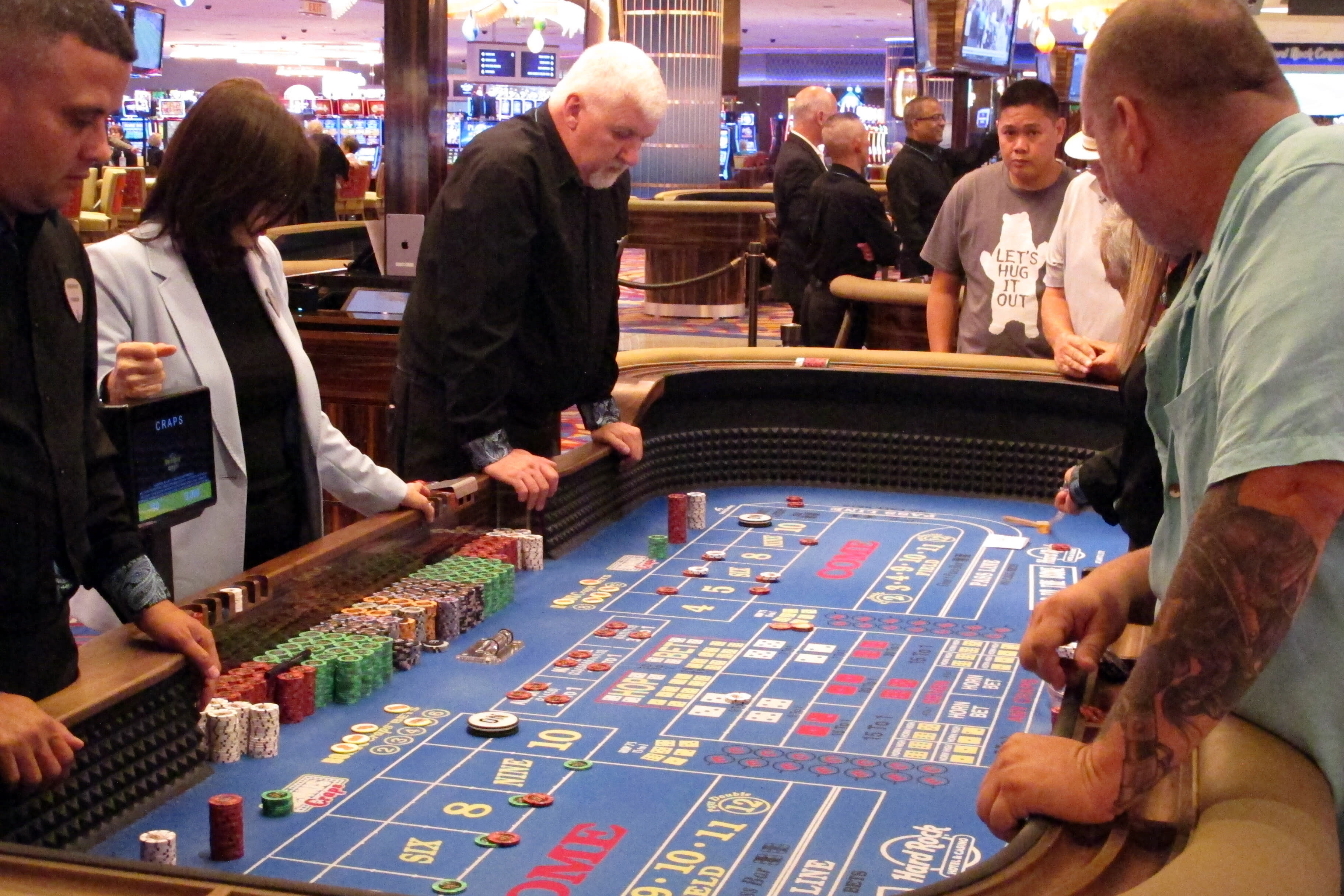 Bubble craps locations atlantic city casino