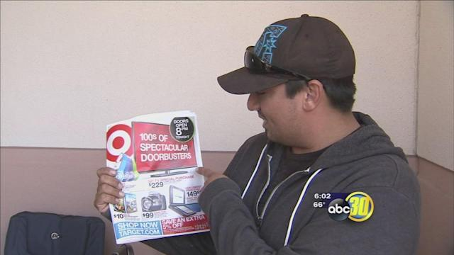 Valley shoppers wait in line overnight for good deals