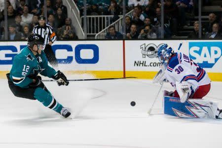 NHL: New York Rangers at San Jose Sharks