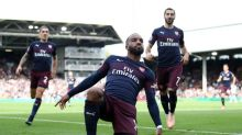 Arsenal striker Alexandre Lacazette says he's feeling the love after stop-start first season