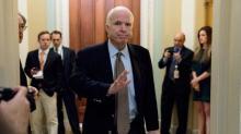 McCain slams question over blocking Trump's agenda for political reasons