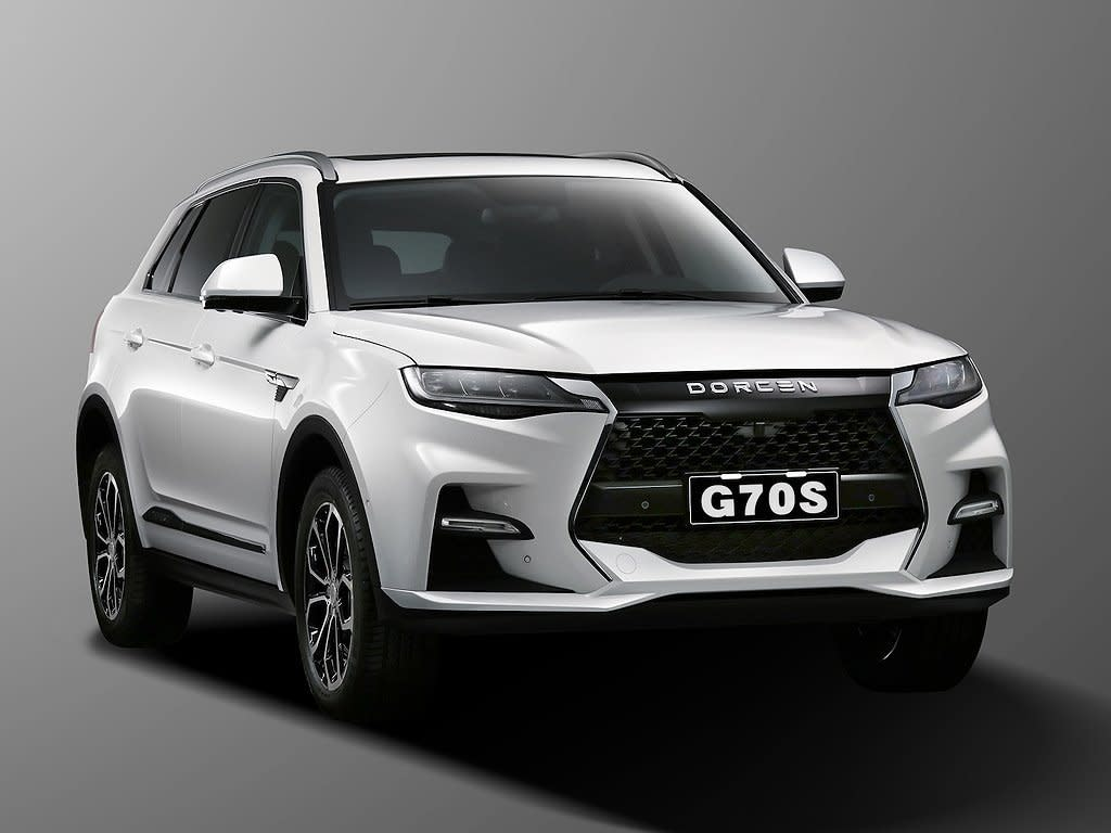 DORCEN大乘汽車創業代表作G70S定裝照正式公布!