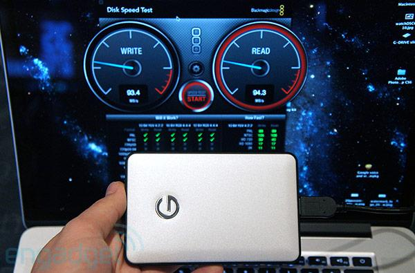Hands-on with G-Technology's Mac-friendly, USB 3.0-packing G-Drive slim