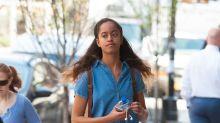Malia Obama Celebrates the Warm Weather in Minidress