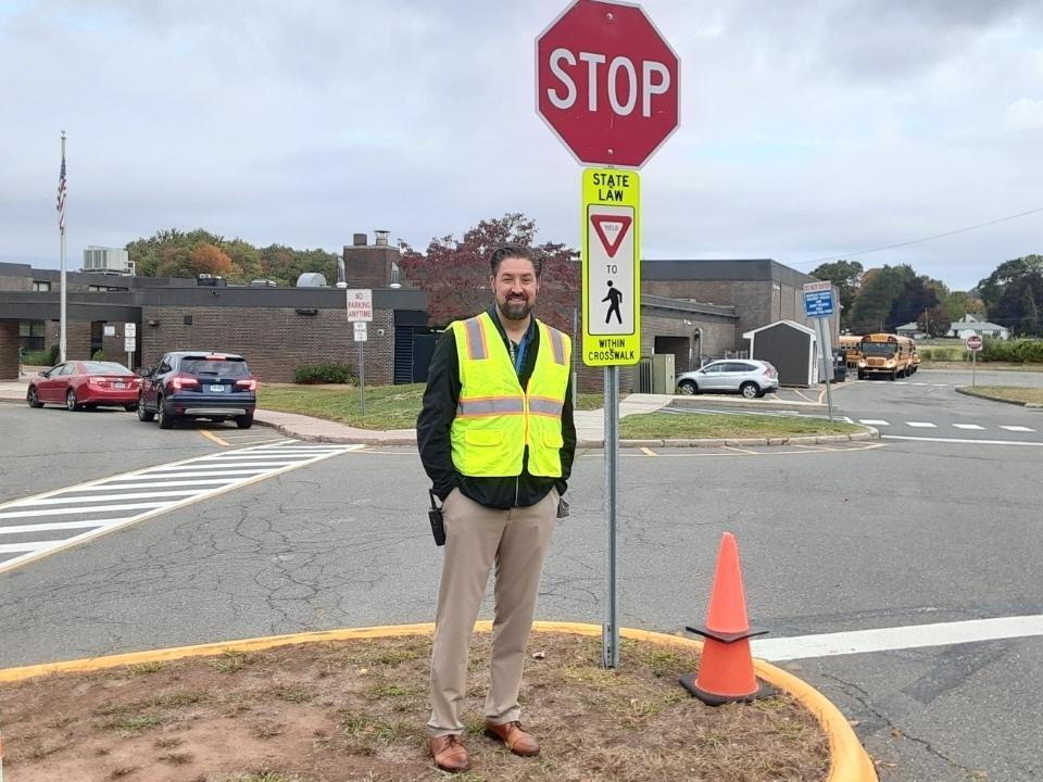 Steve Langlais, the Vernon school system's logistics and safety supervisor.