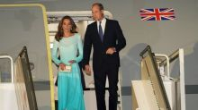 Prince William and Kate's flight aborts landing twice after severe turbulence