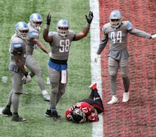 Detroit Lions' gift TD from Atlanta Falcons' Todd Gurley makes him 'mad as hell'