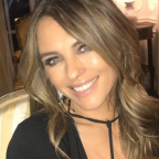 Elizabeth Hurley's Thanksgiving attire for dinner at ambassador's house turns heads