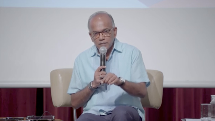 Shanmugam feels 'sad' about question on Chinese right