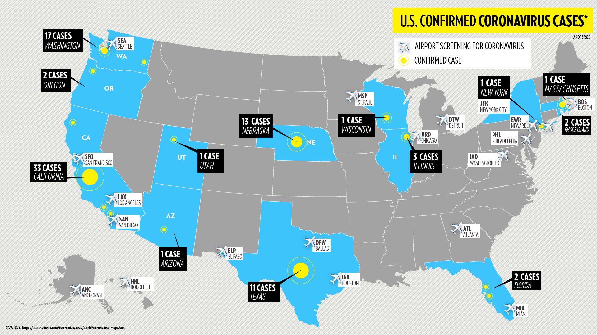 Coronavirus Corona Usa Zahlen
