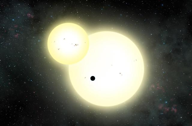 Scientists find the largest known planet to orbit two stars