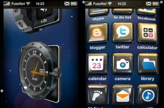 Second Fuse UI video shows wild, dynamically lit 3D interface